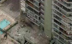 Explosão deixa apartamentos destruídos no Rio de Janeiro