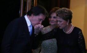 Presidente Dilma vai a casamento de filha de líder do PMDB