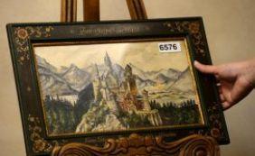Pinturas de Hitler foram leiloadas por 391 mil euros