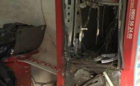Moradores de Nova Brasília são prejudicados por explosão de caixa eletrônico