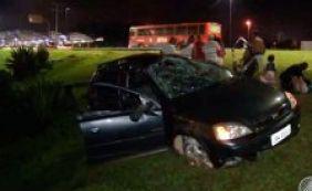 Mais um acidente na Luís Viana Filho em menos de 24 horas; sete ficaram feridos