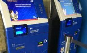 Máquinas para recargas de cartões entram em operação no metrô