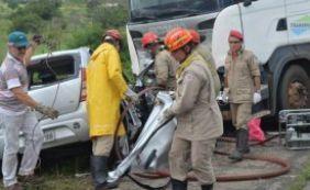 Acidente na BR-116 deixa quatro mortos nesta segunda-feira