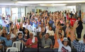 Servidores do Judiciário realizam manifestação na segunda-feira