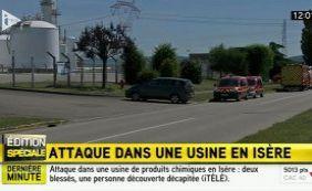 Atentado terrorista deixa feridos em usina na França