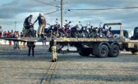 Polícia Rodoviária apreende 15 motos roubadas em operação conjunta