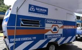 Defesa Civil recebe 42 solicitações de emergência nesta sexta-feira