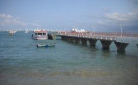 Mau tempo volta a suspender travessia Salvador-Mar Grande