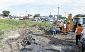 Cerca de 150 famílias deixam casas após alagamento em Pirajá