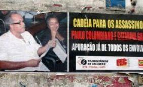 Rodoviários protestam no Centro em ato para marcar morte de sindicalista