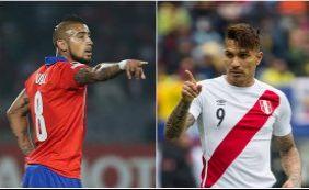 Chile e Peru decidem primeira vaga na final da Copa América; ouça boletins