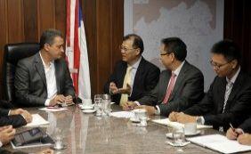 Governador recebe missão chinesa e busca investimentos de R$ 50 bi