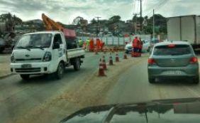 Trânsito continua complicado na região da Estação Pirajá