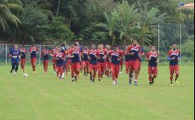 Ba-Vi: Bahia realiza treinamento visando clássico no sábado