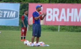 Sérgio Soares foca treino entre ataque contra defesa visando o Ba-Vi