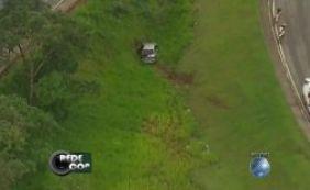 Veículo cai do viaduto do Cabula e deixa uma pessoa ferida