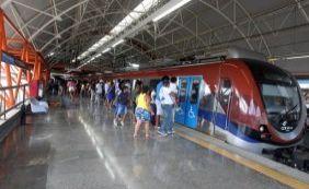 Metrô de Salvador não vai funcionar no feriado do 2 de julho