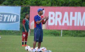 Sérgio Soares revela que Kieza é dúvida para o Ba-Vi