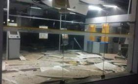 Grupo explode caixa eletrônico do BB em Conceição de Almeida