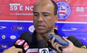"""Sérgio Soares reclama da expulsão de Souza no Ba-Vi: """"Injusta"""""""