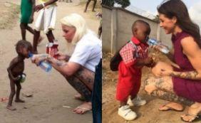 Um ano após ser resgatado desnutrido, menino vai ao primeiro dia de aula