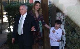 Michel Temer e família voltam a Brasília após carnaval na Base Naval de Aratu