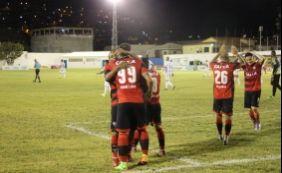 Vitória goleia o Jacobina por 4 a 1 e segue 100% no Campeonato Baiano