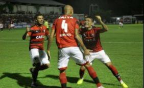 Vitória vence primeiro jogo contra o River-PI e garante vantagem no Nordestão