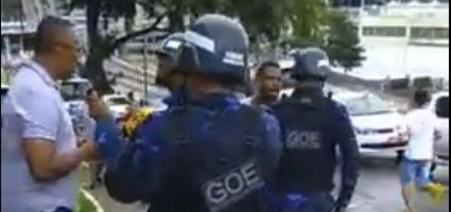 Vereador denuncia agressão de guardas municipais na Bonocô; veja vídeo