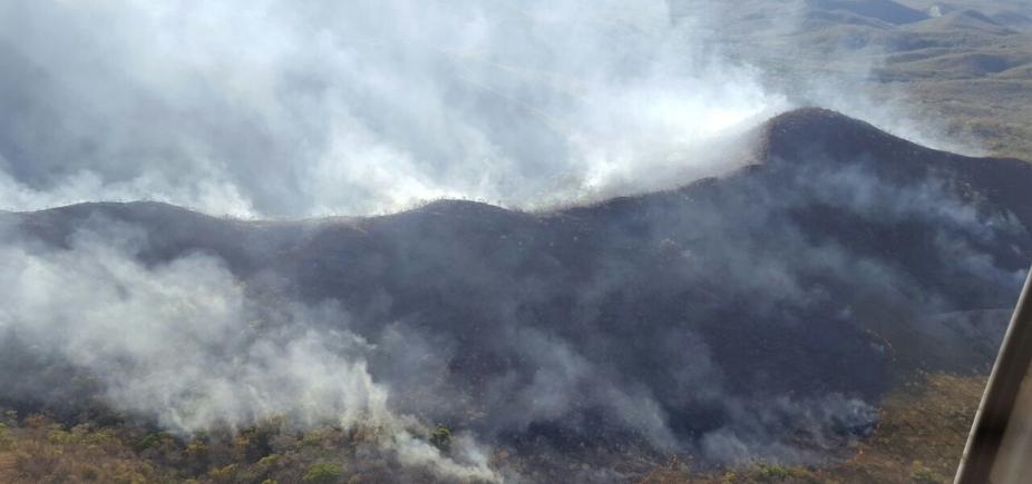 Incêndio destrói 250 hectares no Parque Nacional de Chapada dos Guimarães