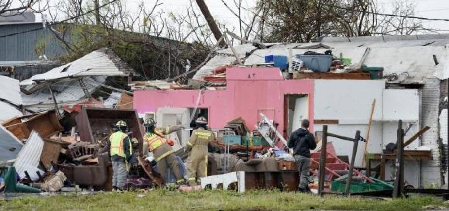 Furacão Harvey deixa pelo menos dois mortos no Texas