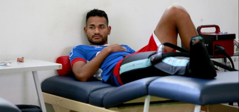 Diagnosticado com hérnia de disco, Jackson pode desfalcar o Bahia na temporada