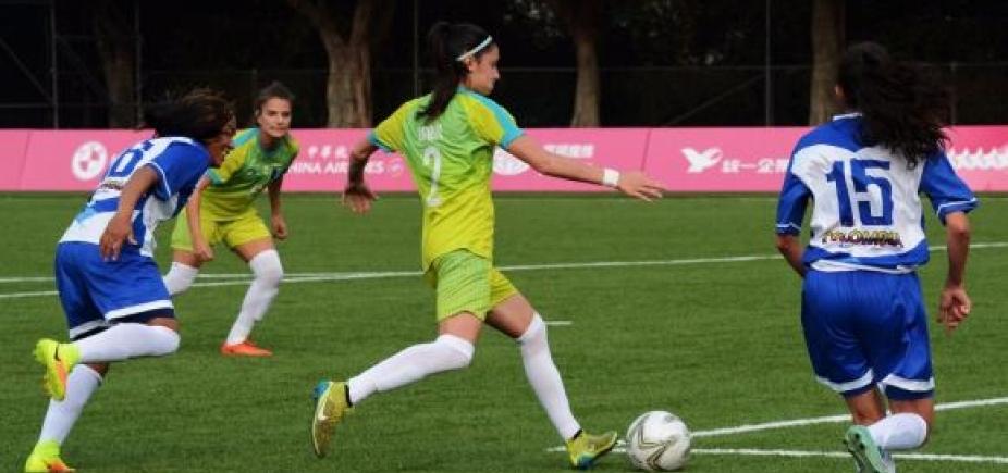 Seleção feminina de futebol brasileira conquista medalha de ouro naUniversíade