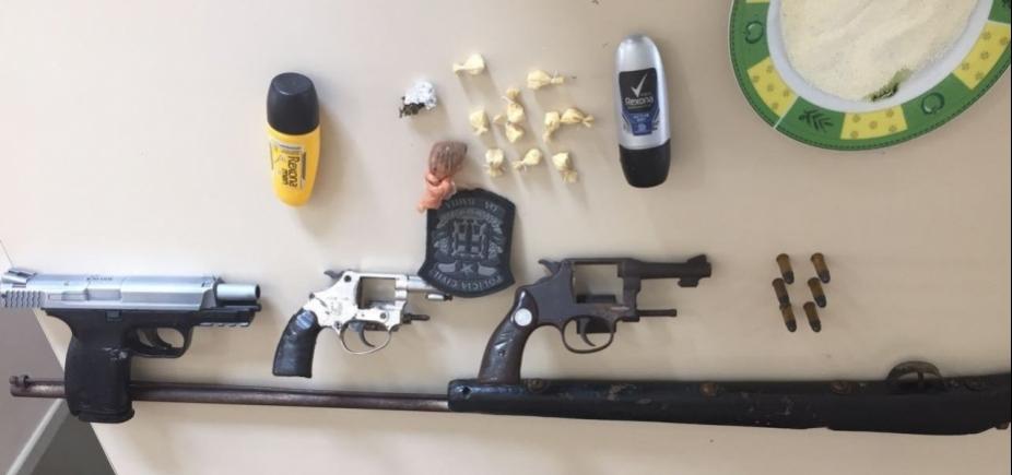 Operação prende 16 suspeitos de envolvimento com tráfico de drogas
