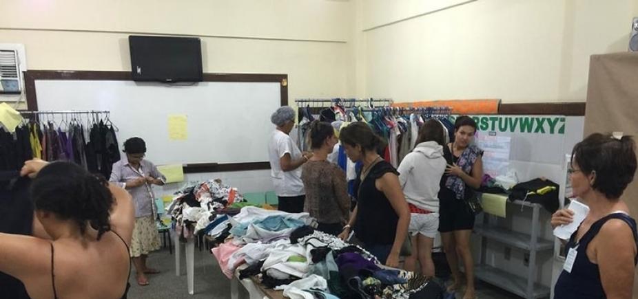 Cidade da Luz realiza brechó solidário para arrecadar fundos