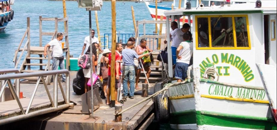 Travessia Salvador-Mar Grande volta a operar nesta terça-feira