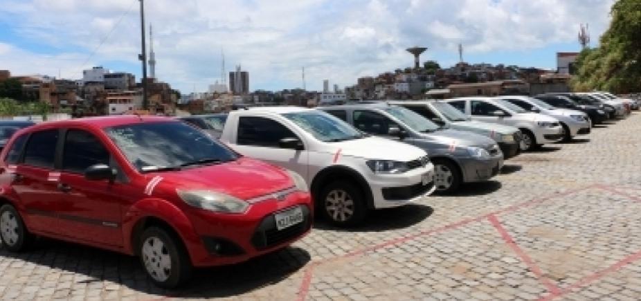 Cerca de 130 veículos serão leiloados pela Transalvador nesta quarta