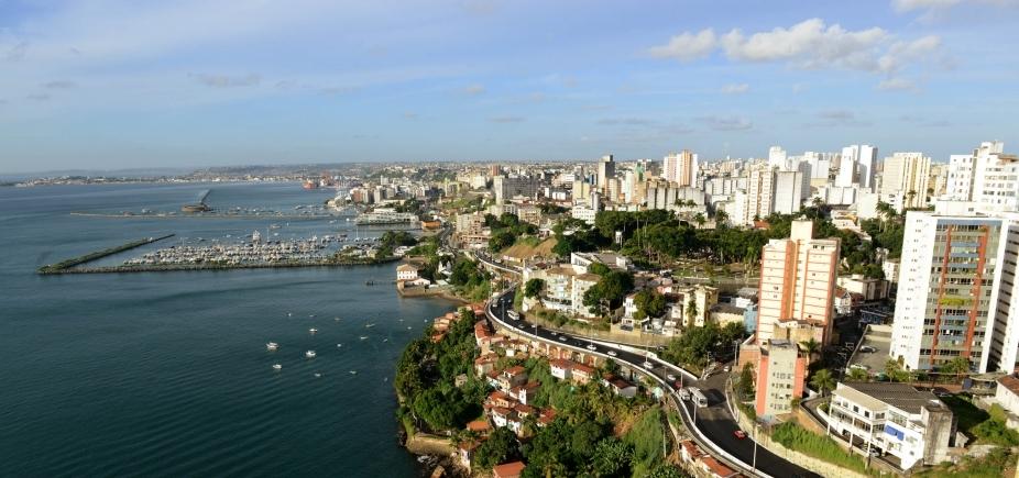 Salvador tem 2,9 milhões de habitantes e é a quarta capital mais populosa do país
