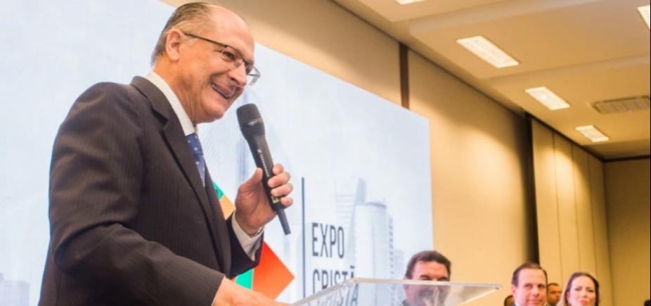 """Alckmin admite vontade de lançar candidatura: \""""\""""Quero ser o presidente do povo brasileiro\""""\"""""""