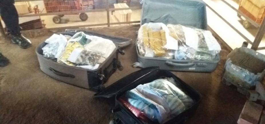 Polícia queima 150 kg de drogas em Vitória da Conquista