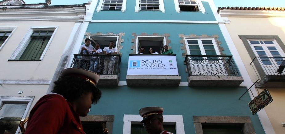 Nova residência artística é inaugurada no Pelourinho