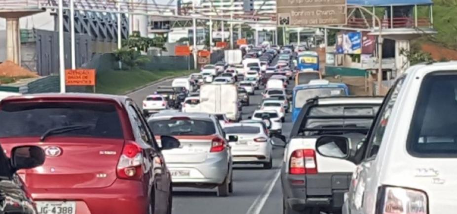 Trânsito: confira os pontos de retenção nesta sexta-feira
