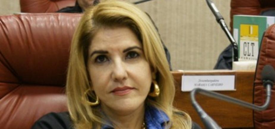 Lourdes Linhares é eleita presidente do Tribunal Regional do Trabalho da Bahia