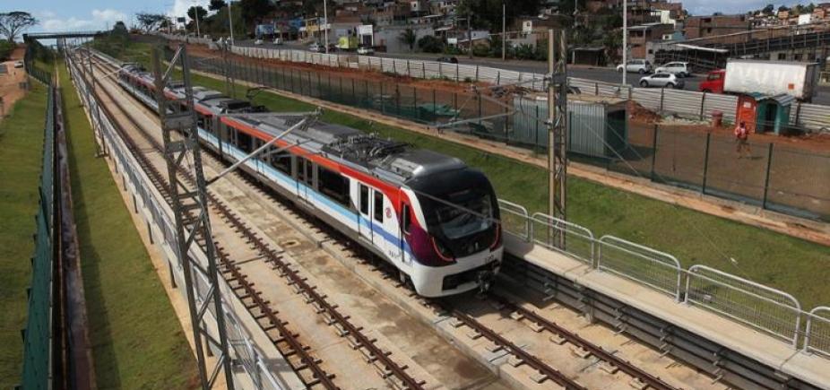 Metrô faz viagens de reconhecimento até Mussurunga a partir de domingo