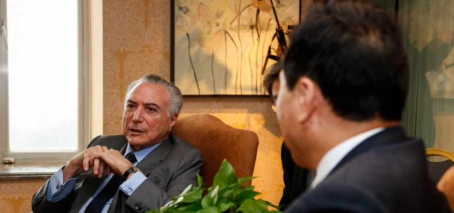 """Temer diz que avanço do PIB mostra que Brasil está \""""crescendo e se recuperando\"""""""