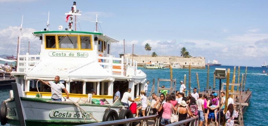 Travessia Salvador Mar Grande acontece a cada 30 minutos neste sábado