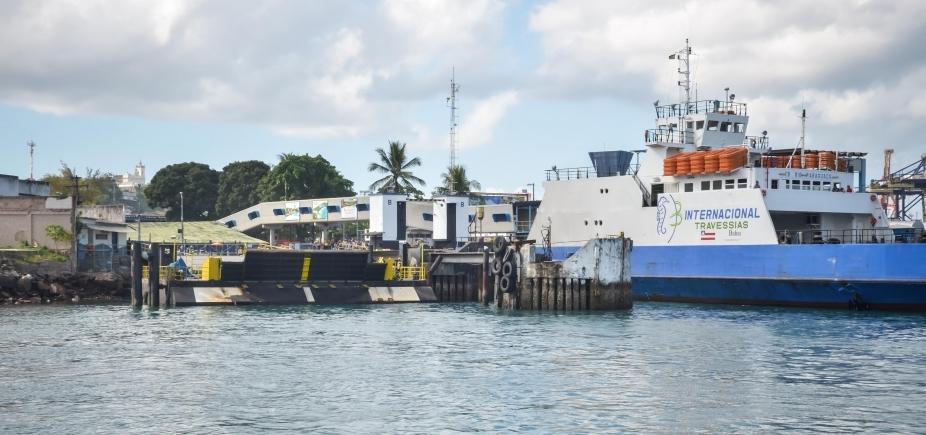 Sistema Ferry Boat opera com quatro embarcações na manhã desde sábado; fluxo é considerado moderado