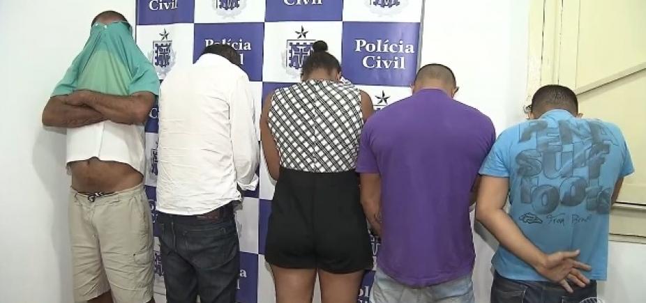 Quadrilha é presa dentro de agência da Caixa tentando empréstimo com documentos falsos em Salvador