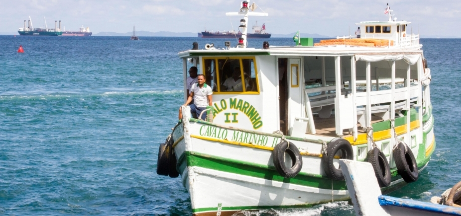 Travessia Salvador-Mar Grande está suspensa neste domingo devido ao mau tempo