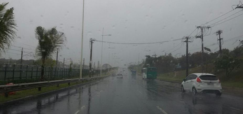 Codesal registra quatro ocorrências e diz que Itapuã foi o bairro que mais choveu